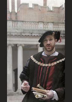 Re-enactor, Hampton Court Palace- Nice looking dude!