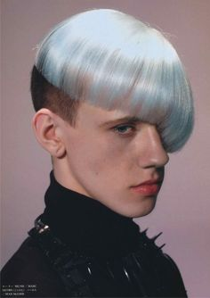 """Techno Is Hair"" By Vogue Hommes Japan"