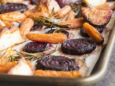 The recipe developers in Food Network Kitchen spill their best cooking secrets and tricks. Beet Recipes, Baby Food Recipes, Food Network Recipes, Healthy Recipes, Cooking Beets In Oven, Batch Cooking, Cooking Tips, Cooking Pasta, Roasted Root Vegetables