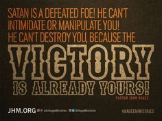 Claiming it! VICTORY IS ALL MINE :-)