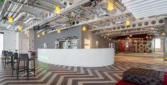 Sweet reception desk! Heineken Offices - Dublin - Office Snapshots