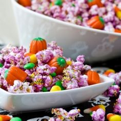 Easy Halloween Popcorn Mix