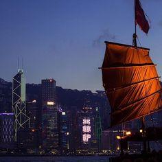 香港 ビクトリアハーバーの夕刻  #HongKong Hong Kong, Opera House, Nostalgia, Louvre, Building, Travel, Viajes, Buildings, Destinations