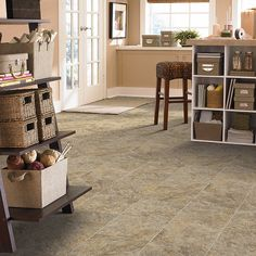 """Surfside LVS, inspired by the wind-swept beaches of the Caribbean coastline: http://www.mannington.com/…/Luxu…/Stone/Surfside/130141.aspx A stylish way for even land-lubbers to say, """"Surf's up!"""""""