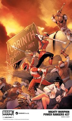 The Shattered Grid comic event will see the debut of a new Power Ranger. Power Rangers Poster, Power Rangers Comic, Go Go Power Rangers, Mighty Morphin Power Rangers, Kamen Rider, Power Rengers, Rangers Team, Boom Studios, Green Ranger