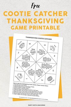 Free thanksgiving cootie catcher printable for you to download and use at your thanksgiving Celebration. #Thanksgiving | thanksgiving printables free | thanksgiving printables for kids | thanksgiving printables templates | thanksgiving printables activities | thanksgiving cootie catcher template | free thanksgiving cootie catcher #kidstable #printandcolor Thanksgiving Bingo, Free Thanksgiving Printables, Thanksgiving Activities For Kids, Thanksgiving Celebration, Thanksgiving Traditions, Free Printables, Cootie Catcher Template, Projects For Kids, Kids Crafts
