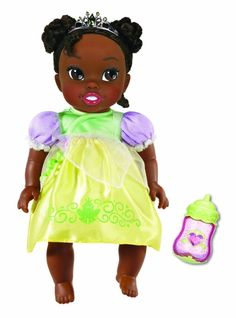 My First Disney Princess Deluxe Baby Tiana Doll