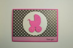Handmade baby shower cards and .svg file