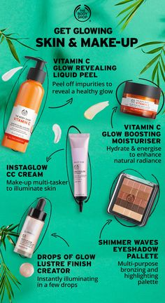 Sunshine, fresh colours and glowing skin is IN Get ready for t is part of Body shop skincare - SUMMER'S HERE! Sunshine, fresh colours and glowing skin is IN Get ready for the sun… Body Shop At Home, The Body Shop, Beauty Care, Beauty Skin, Beauty Hacks, Face Beauty, Beauty Tutorials, Makeup Tutorials, Body Shop Skincare