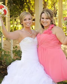 Bride and Maid of Honor :)