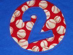 Baseball Birthday Party Tee with Reverse by littlehousefrau, $18.00