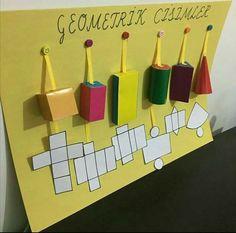 Géométrie et en cure-den Math For Kids, Fun Math, Math Games, Typing Games, Kids Fun, Geometry Activities, Math Activities, Math Classroom Decorations, Math Projects