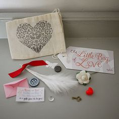 I like this idea for our second year anniversary gift! (Which traditionally is cotton). Never too early to plan a cotton goodie bag for my man, right?