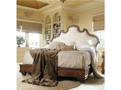 Shop for Century Furniture Bed With Upholstery Headboard. King Size 6/6, 749-146, and other Bedroom Beds at Greenbaum Home Furnishings in Bellevue, WA. The Collection Is Named For A Charming Coastal Town Nestled On The Tyrrhenian Sea. Caperana Has Long Inspired Authors, Philosophers And Artists.