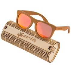 pandoo ♻ Braune Bambus Sonnenbrille Unisex -polarisiert Wayfarer, Ray Bans, Unisex, Sunglasses, Style, Fashion, Bamboo, Eyeglasses, Get Tan