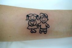 Menininhos #tattoo #children