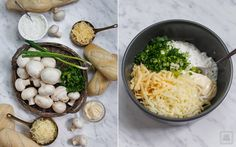 Bułki z serem i pieczarkami – niezwykłe | Karo in the Kitchen Cinnabon, Cheddar, Rice, Chicken, Meat, Amanda, Food, Happy, Essen