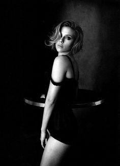 Scarlett Johansson  by Peter Lindbergh