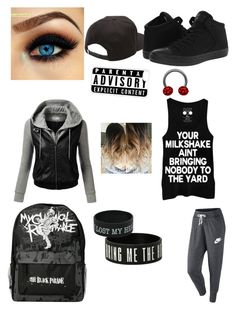 """""""Chapter 9"""" by plzexusemyclumsiness on Polyvore featuring NIKE, Vans, Converse, J.TOMSON and CellPowerCases"""