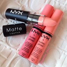 Love NYX lipstick & glosses