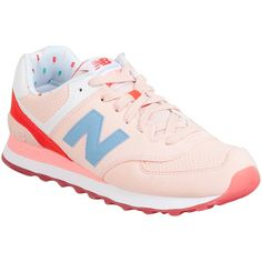 New Balance Women's 574 State Fair Athletic Sneaker ($80) ❤ liked on  Polyvore featuring