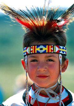 Native American Indian boy