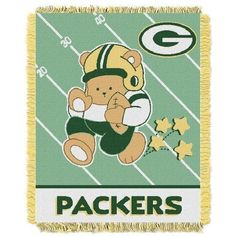 Green Bay Packers Baby Blanket Bedding