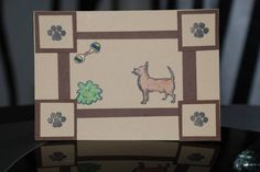 SC203 Happy Dog by wombat - Cards and Paper Crafts at Splitcoaststampers http://www.jessicalynnoriginal.com #AKCDogs #DogBreeds #DogStamps
