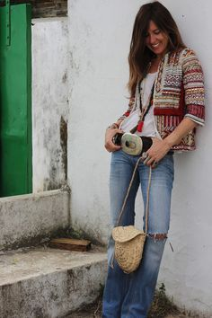 ethnic jacket for the countryside | mytenida en stylelovely.com