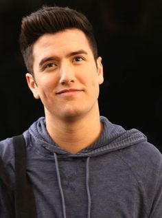 Singer and actor, Logan Henderson...
