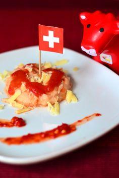 Gnocchi di semolino con pomodoro, 'nduja e formaggio