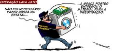 GRAÇA FOSTER COLABORA PARA A INVESTIGAÇÃO