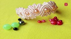 How to make a Wavy macrame bracelet - DIY tutorial by Tita
