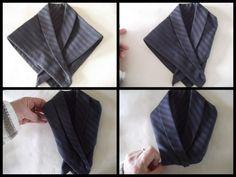 Robe et smocking pliage serviettes origami pinterest mariage smocks et salons - Pliage serviette costume ...