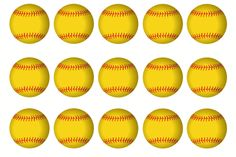 """1"""" softball bottle cap image. I forgot if it's for 8.5x11 or 4x6. If someone figures it out, please post correct size as comment, thx. Too lazy to try myself right now."""