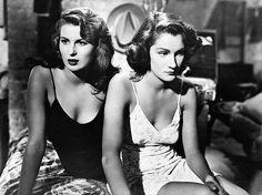 Silvana Mangano and Doris Dowling - 1949