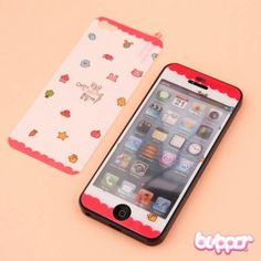 Kawaii Korean Screen Protector for iPhone 5 - Home - Cases & Covers - Mobile Accessories | Blippo Kawaii Shop