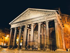 While vacationing in Italy one evening I was wandering through the streets and came upon the Pantheon. I placed my camera on the ground and used a long exposure with self-timer. I absolutely loved seeing Rome at night!