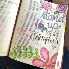 Isaiah 1:17 Isaiah Bible, Isaiah 1, Bible Study Journal, Art Journaling, Bible Art, Bullet Journal, Inspirational, Lettering, Motivation