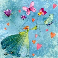 Fairy and Butterflies by Mila Marquis. PDF cross stitch Fairy and Butterflies by Mila Marquis – Counted cross stitch pattern in PDF format Art And Illustration, Art Fantaisiste, Photo Deco, Art Carte, Cross Stitch Supplies, Square Card, Whimsical Art, Embroidery Patterns, Watercolor Paintings