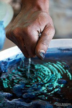 Malian textile designer Aboubakar Fofana + indigo | Lauren Barkume