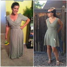 Little Prarie Dress makeover! #refashion #sewing #DIY #thrifty