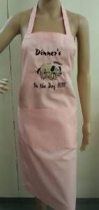 Dinners in the dog.and you are in the dog house! Novelty Aprons, Dog Houses, Dinners, Dogs, Pink, Fashion, Dinner Parties, Moda, Food Dinners