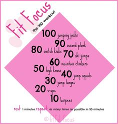 The 100 Workout - Fitful Focus