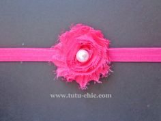 Hot Pink Headband: baby headbands, newborn headband, infant headband, toddler headband, childrens headband
