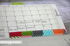 blog planner page moleskine notebook