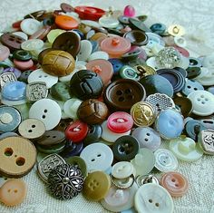 I have a button collection that looks much like this...as a matter of fact, I have several of those buttons!