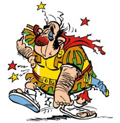 Ohh boy poor roman soldier in Asterix