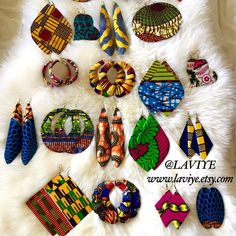 Beautiful African Print Jewellery