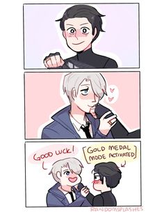 yuri on ice — viktuuri
